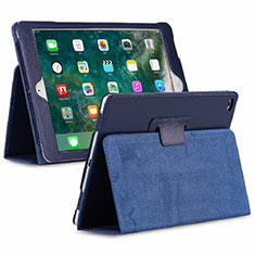 Leather Case Stands Flip Cover L04 Holder for Huawei MediaPad M6 8.4 Blue