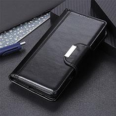 Leather Case Stands Flip Cover L04 Holder for LG K22 Black