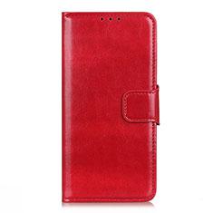 Leather Case Stands Flip Cover L04 Holder for LG K62 Red