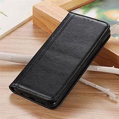 Leather Case Stands Flip Cover L04 Holder for Motorola Moto G 5G Black