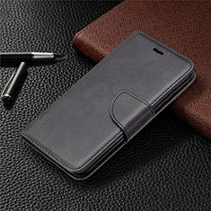 Leather Case Stands Flip Cover L04 Holder for Nokia 1.3 Black