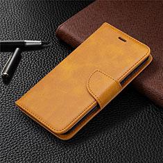 Leather Case Stands Flip Cover L04 Holder for Nokia 1.3 Orange