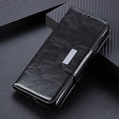 Leather Case Stands Flip Cover L04 Holder for Oppo Reno4 4G Black