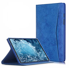 Leather Case Stands Flip Cover L04 Holder for Samsung Galaxy Tab A7 4G 10.4 SM-T505 Blue
