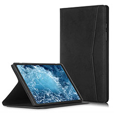 Leather Case Stands Flip Cover L04 Holder for Samsung Galaxy Tab A7 Wi-Fi 10.4 SM-T500 Black