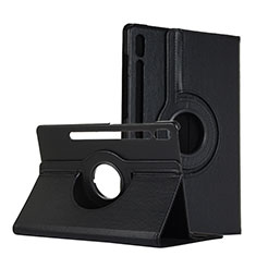 Leather Case Stands Flip Cover L04 Holder for Samsung Galaxy Tab S6 10.5 SM-T860 Black