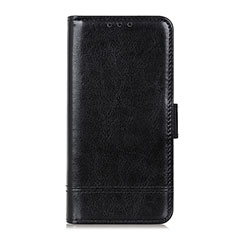 Leather Case Stands Flip Cover L04 Holder for Sony Xperia 5 II Black