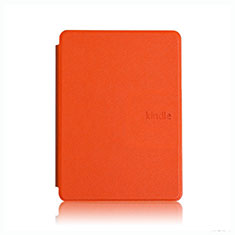Leather Case Stands Flip Cover L05 Holder for Amazon Kindle Paperwhite 6 inch Orange