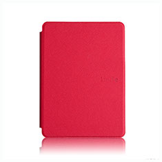 Leather Case Stands Flip Cover L05 Holder for Amazon Kindle Paperwhite 6 inch Red