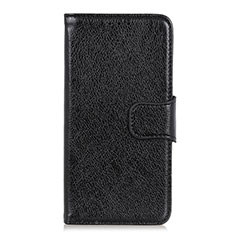 Leather Case Stands Flip Cover L05 Holder for Huawei Enjoy 10S Black