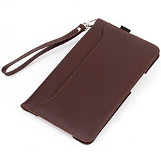 Leather Case Stands Flip Cover L05 Holder for Huawei MatePad 10.4 Brown