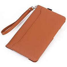 Leather Case Stands Flip Cover L05 Holder for Huawei MatePad 5G 10.4 Orange