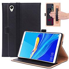 Leather Case Stands Flip Cover L05 Holder for Huawei MediaPad M6 8.4 Black