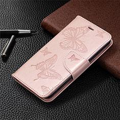 Leather Case Stands Flip Cover L05 Holder for Nokia 1.3 Rose Gold