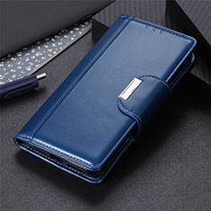 Leather Case Stands Flip Cover L05 Holder for Oppo A31 Blue