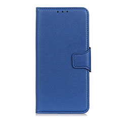 Leather Case Stands Flip Cover L05 Holder for Oppo Reno3 A Blue