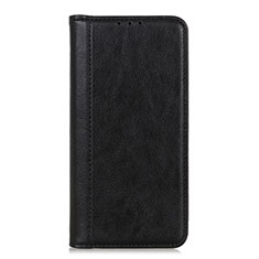 Leather Case Stands Flip Cover L05 Holder for Realme Narzo 20 Pro Black