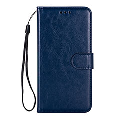 Leather Case Stands Flip Cover L05 Holder for Samsung Galaxy S20 Plus 5G Blue