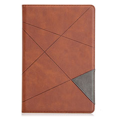 Leather Case Stands Flip Cover L05 Holder for Samsung Galaxy Tab S5e 4G 10.5 SM-T725 Brown
