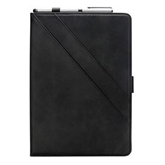 Leather Case Stands Flip Cover L05 Holder for Samsung Galaxy Tab S6 Lite 4G 10.4 SM-P615 Black