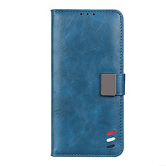 Leather Case Stands Flip Cover L05 Holder for Xiaomi Mi 10T Pro 5G Blue