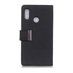 Leather Case Stands Flip Cover L06 Holder for Asus Zenfone 5 ZE620KL Black