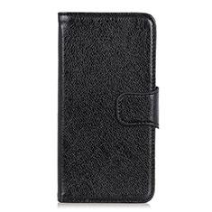 Leather Case Stands Flip Cover L06 Holder for Asus Zenfone Max Plus M2 ZB634KL Black