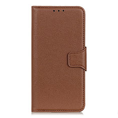 Leather Case Stands Flip Cover L06 Holder for Huawei Honor 30 Brown