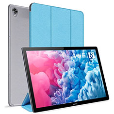 Leather Case Stands Flip Cover L06 Holder for Huawei MatePad 10.8 Sky Blue