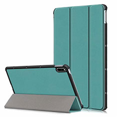 Leather Case Stands Flip Cover L06 Holder for Huawei MatePad 5G 10.4 Green