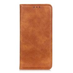 Leather Case Stands Flip Cover L06 Holder for Realme 7i Orange
