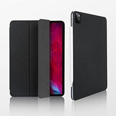 Leather Case Stands Flip Cover L07 Holder for Apple iPad Pro 12.9 (2020) Black
