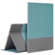 Leather Case Stands Flip Cover L07 Holder for Huawei MediaPad M6 10.8 Cyan