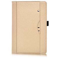 Leather Case Stands Flip Cover L07 Holder for Huawei MediaPad M6 8.4 Gold