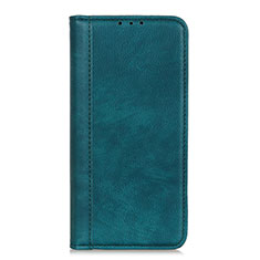 Leather Case Stands Flip Cover L07 Holder for LG Q52 Green