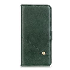 Leather Case Stands Flip Cover L07 Holder for Motorola Moto G9 Power Green