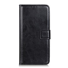 Leather Case Stands Flip Cover L07 Holder for Realme X7 Pro 5G Black