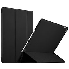 Leather Case Stands Flip Cover L08 for Apple iPad Mini 4 Black
