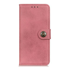 Leather Case Stands Flip Cover L08 Holder for Samsung Galaxy S20 FE 5G Pink