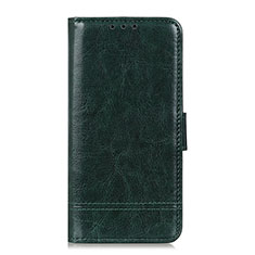 Leather Case Stands Flip Cover L09 Holder for Huawei Enjoy 10S Green