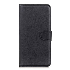 Leather Case Stands Flip Cover L10 Holder for Huawei Enjoy 10S Black