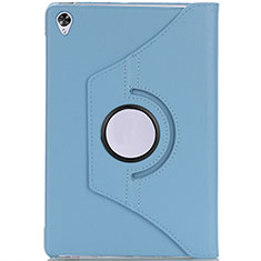 Leather Case Stands Flip Cover L10 Holder for Huawei MediaPad M6 10.8 Sky Blue