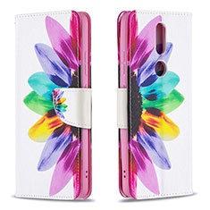 Leather Case Stands Flip Cover L11 Holder for Nokia 2.4 Colorful