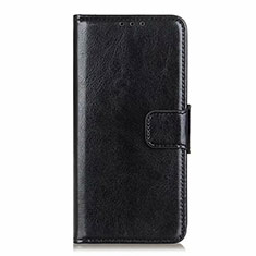 Leather Case Stands Flip Cover L25 Holder for Samsung Galaxy A71 5G Black