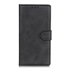 Leather Case Stands Flip Cover N06 Holder for Huawei P40 Black