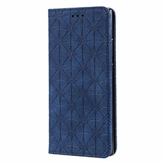 Leather Case Stands Flip Cover N06 Holder for Samsung Galaxy Note 20 Ultra 5G Blue