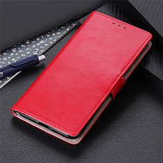 Leather Case Stands Flip Cover N07 Holder for Huawei P40 Red