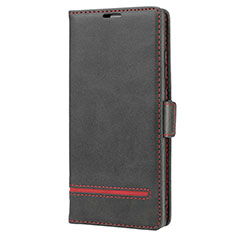 Leather Case Stands Flip Cover N11 Holder for Samsung Galaxy Note 20 5G Black