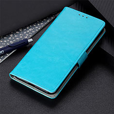 Leather Case Stands Flip Cover N15 Holder for Huawei P40 Pro+ Plus Sky Blue