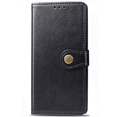 Leather Case Stands Flip Cover T01 Holder for Samsung Galaxy S20 5G Black